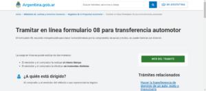 Registro del automotor en Córdoba 1